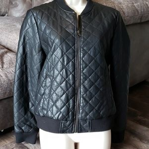 Forever 21 faux leather jacket Sz M